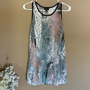 Mossimo Tank - Colorful, See-Through Design